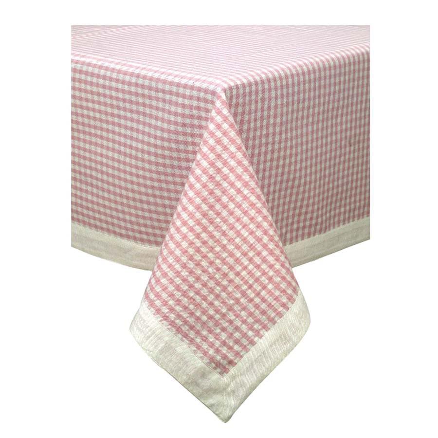 Nappe Motif Bois : Nappe motif vichy rose 160×160 – D?coration – Interior's : meubles